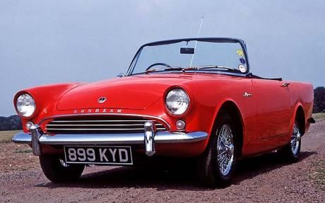 Sunbeam Alpine... My dad had one of these and I begged him not to sell it (I was about 15 at the time). I've wanted one ever since!
