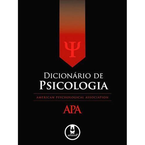 Livro : Dicionário de Psicologia APA