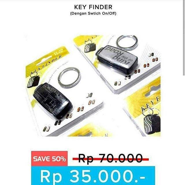 New Arrival !  Gantungan kunci siul (Key Finder)  gantungan kunci ini berfungsi untuk membantu anda mencari kunci yang suka anda taruh sembarangan  Anda cukup bersiul dan gantungan kunci ini akan berbunyi dan anda bisa mengatur key finder ini dalam bentuk on off  tersedia berbagai macam bentuk yang bisa anda pilih  harga 35rb (normal 50rb)  ORDER :  Line : AZZAGADGET  Whatsapp : 081357776262  WAJIB menggunakan format order  nama :  no hp :  alamat lengkap :  pesanan :  Tidak pakai format…