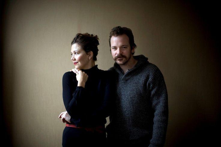 maggie gyllenhaal and peter sarsgaard justthe2ofus pinterest. Black Bedroom Furniture Sets. Home Design Ideas