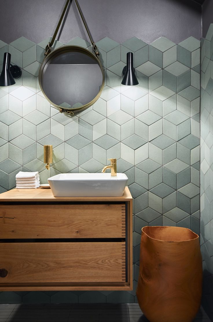 Mutina TEx tile w/ beautiful vanity
