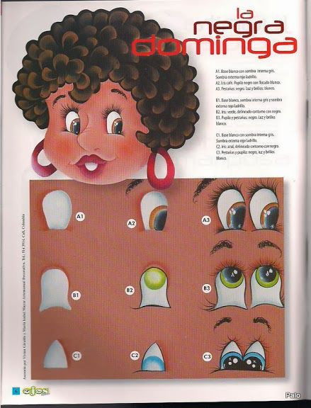 Revista como pintar ojos