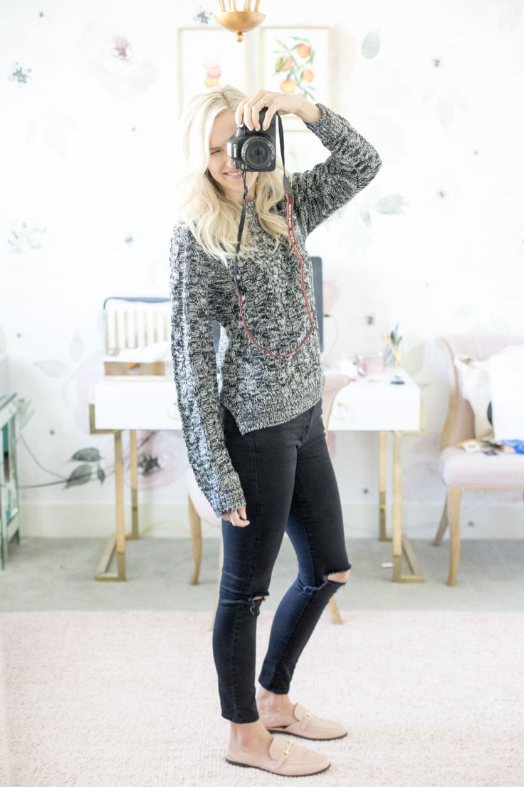 A HUGE sweater sale is going on! There are 20 different cute styles and TONS of colors to choose from! Click for my code to get 40% off! Sweater weather | Huge sale | Sweater sale | Sweater outfit | Fall fashion | Cutest sweaters | Dress for fall | Black jeans | Grey sweater