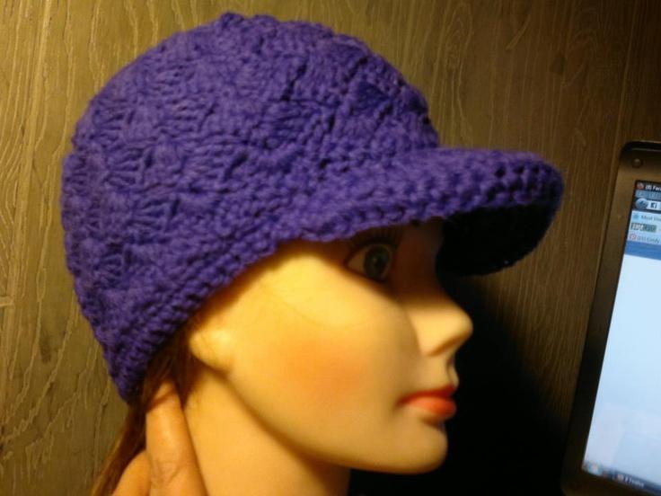 1000+ images about CROCHET/KNIT NEWSBOY HATS on Pinterest Crochet hat patte...
