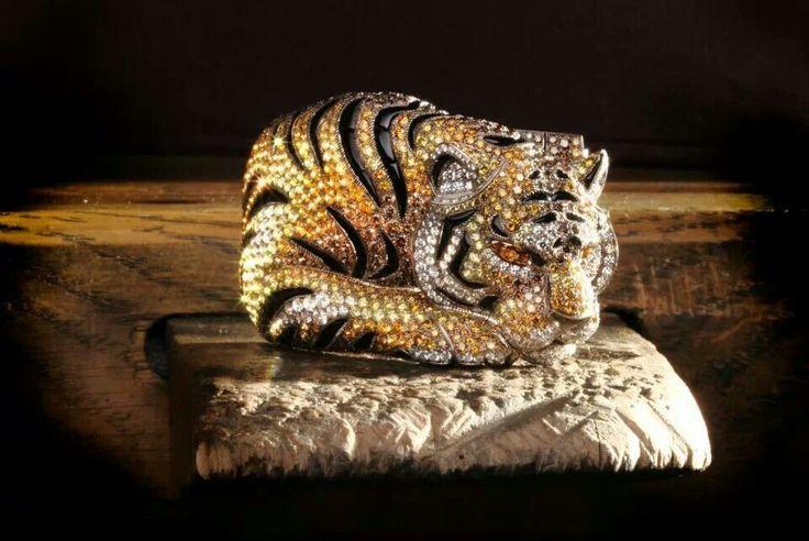 Ночной Картье. Cartier Тигр устал... Браслет.
