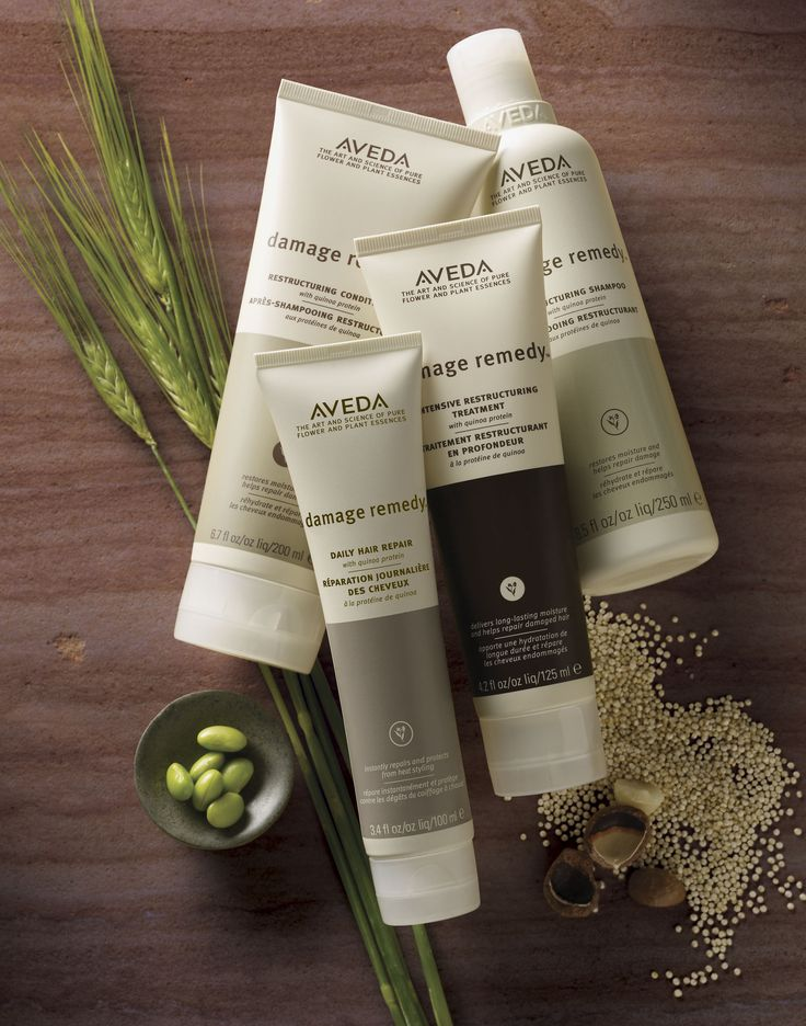 Aveda's Damage Remedy - Nature's Remedy for Damaged Hair - with the power of quinoa protein. http://www.aveda.com/ShopAveda.tmpl?SalonID=26791
