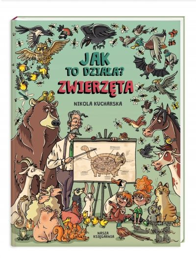Jak to działa? Zwierzęta - Wydawnictwo NASZA KSIĘGARNIA (české vydání chystá Euromedia)