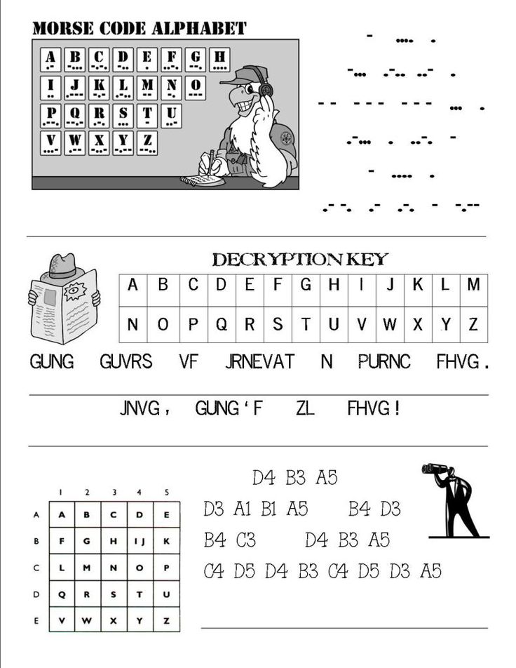 Oh, we could teach the alphabet in sign language as a secret code!: Spy Party, secret code for books & clues