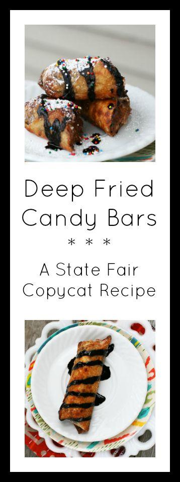 Deep-fried candy bars: A State Fair copycat recipe. Click through for recipe!