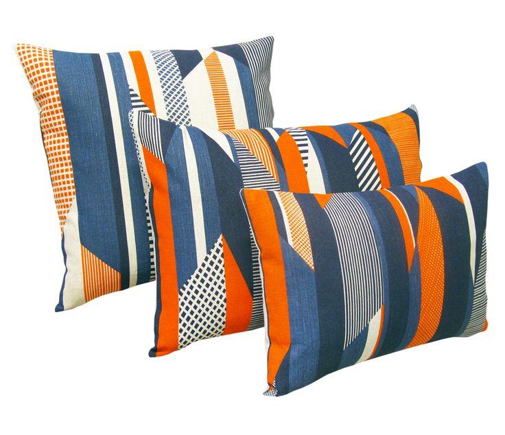 Tamasyn Gambell   Textured Stripe Cushions   www.tamasyngambell.com