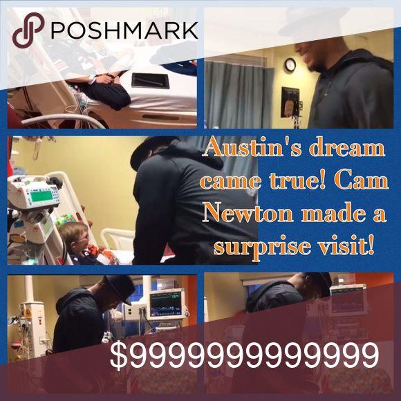 Yay Austin!! Thank You Cam Newton! Praying! https://www.facebook.com/AuburnTigers/videos/10154884432714894/ Austin met Cam! War Eagle Bags