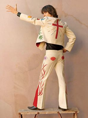 Gram Parsons in Nudie