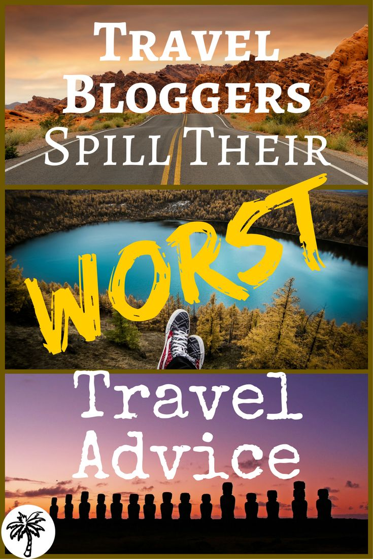 With the help of some awesome travel bloggers I've tried to debunk 21 of the worst pieces of travel advice. Thank me now or later ;)