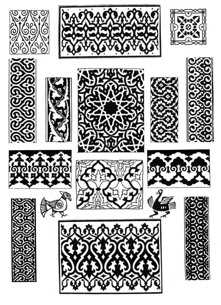 арабские мотивы и роспись