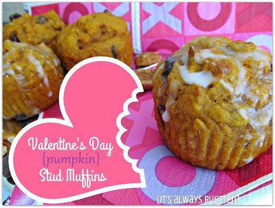 Valentine's Day Stud Muffins Recipe {It's Always Ruetten}