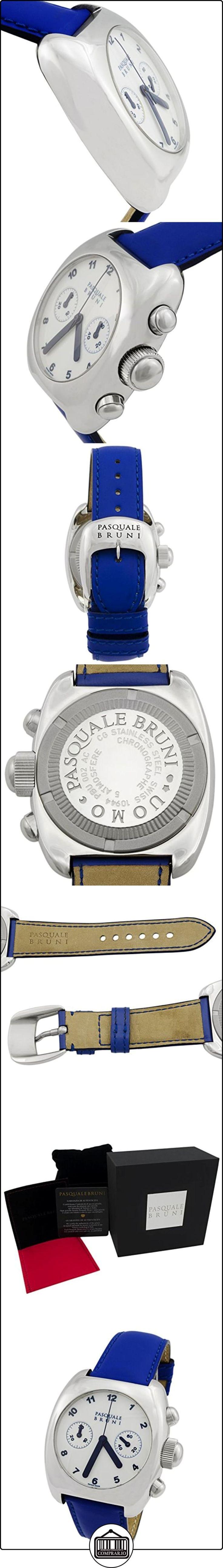 Pasquale Bruni Uomo cronógrafo de acero inoxidable reloj de los hombres automáticos suizo hecho 00MCA13  ✿ Relojes para hombre - (Lujo) ✿
