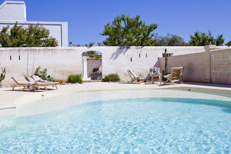 Lamia Bianca - villa with pool in Puglia near sandy beaches