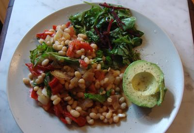 Alkaline Recipe #34 Alkalising Baked Bean Salsa Breakfast - This is a brilliant, warm, filling alkaline breakfast.  It is really easy and really great for setting you up for the day. This is my find of the year!