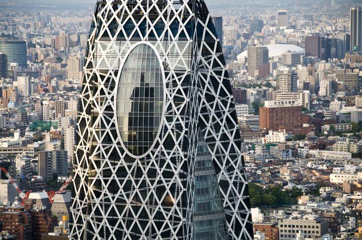 Mode Gakuen Cocoon Tower, Shinjuku, Japan