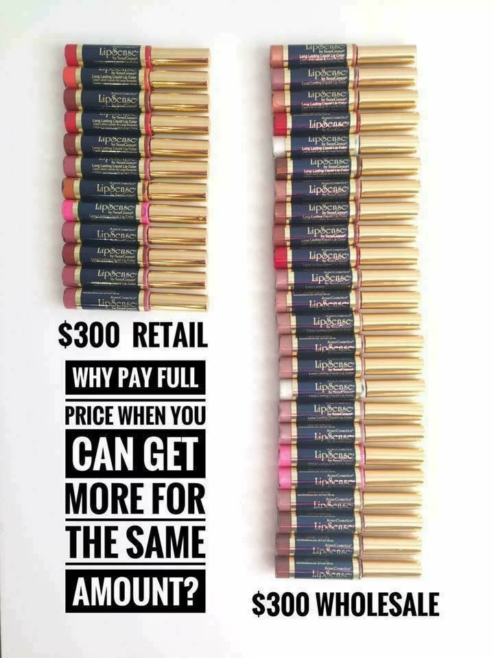 Look at the savings you can get on Senegence products! Www.senegence.com/letsmakeup