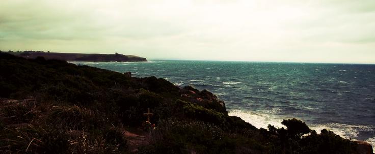 Tasmanian coast, both beautiful and treacherous.