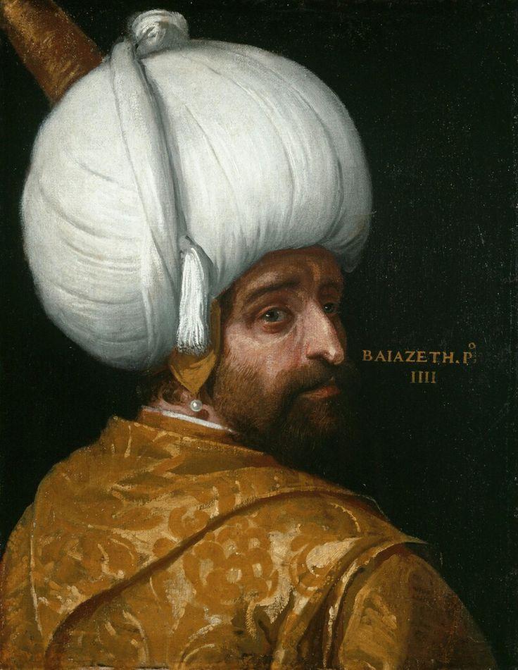 Veronese, Portrait of Bayezid I (1575)