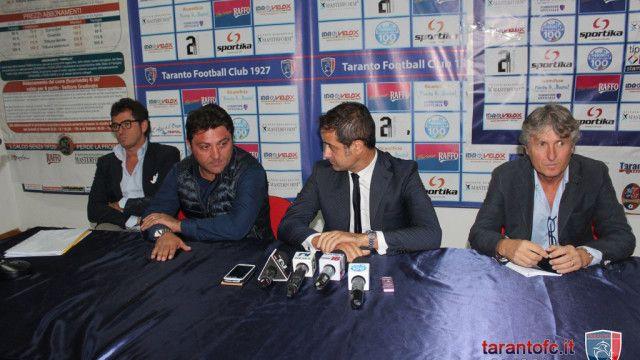 """TARANTO FC. PRESIDENTE NARDONI: """"OVUNQUE SAREMO L'ANNO PROSSIMO, IO CI SARO'"""" - Passione Rosso Blu"""
