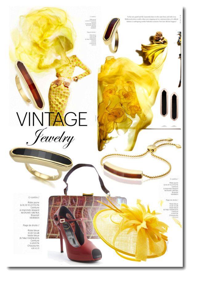 Pretty Vintage Jewelry by betiboop8 on Polyvore featuring Roger Vivier, Monica Vinader, vintage and vintagejewelry