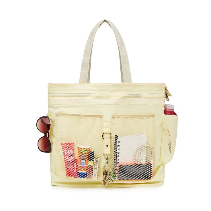 Here is the inside of all our handbags, that is why 'its whats on the inside that counts'. www.maryandmarieshop.com
