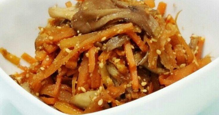 レポ800件に大感謝です♡ ピリリと一味唐辛子のきいたきんぴら♫ 食物繊維豊富なので便秘対策にも♪