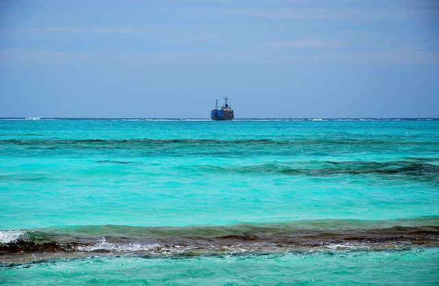 Mar de los siete colores - Archipielago de San Andres, Providencia y Santa Catalina, Colombia