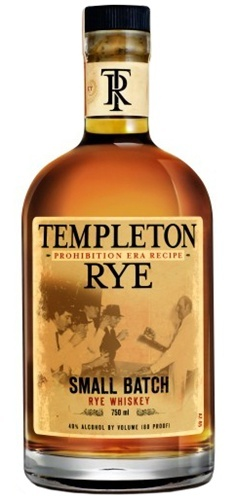 Templeton Rye Whiskey. Made in Iowa, was a famous bootleg . Al CAPONE Regularly Drank it and ship it around.