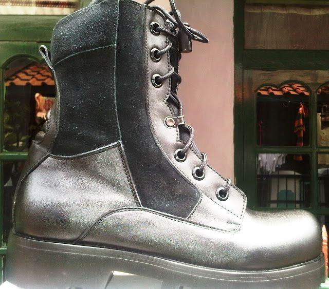 Sepatu Boots Type C-022 DANY :081802060232 / PIN-BB 2316726C   www.ciarmy-boots.com