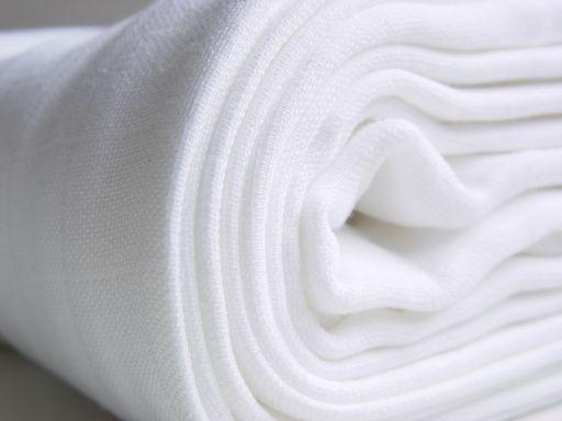 Bavlněné dětské pleny KIKKO 70x70 bílé 10ks 290,-