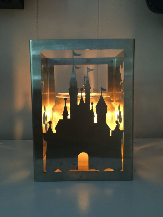 Disney Inspired Candle Holder to Show Your Disney Love