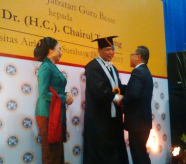 Rektor Unair Samakan CT dengan Tjokroaminoto dan Buya Hamka