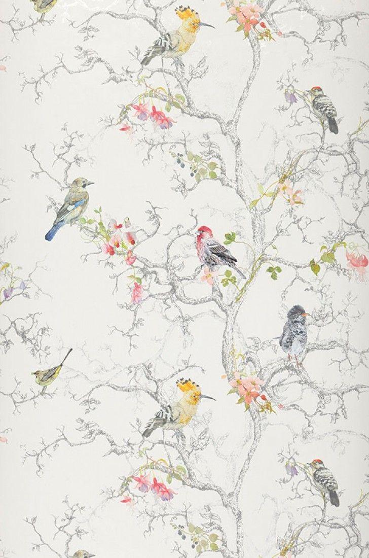 Ziberno | Papel de parede romântico | Padrões de papel de parede | Papel de parede dos anos 70