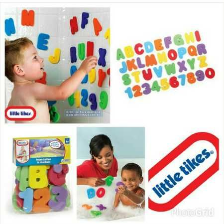 Little Tikes Bath Time Letters & Numbers