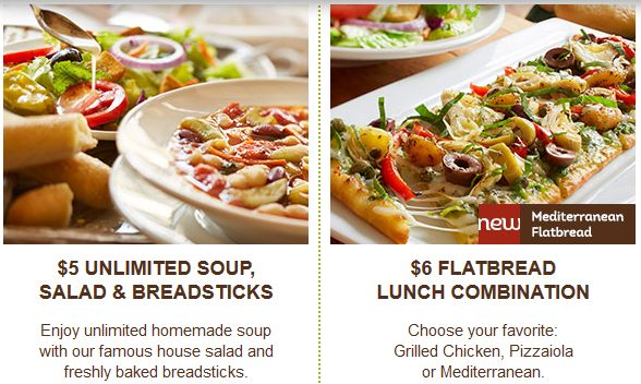 1000 Ideas About Olive Garden Lunch Coupons On Pinterest