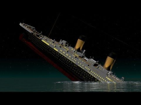 NEW and IMPROVED! - Titanic - Death of Titan - T.H.Cooney Art - YouTube