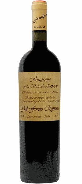 Amarone della Valpolicella DOCG, ROMANO DAL FORNO O néctar dos deuses! Este foi provavelmente o vinho que o belo Ganimedes derramou a Júpiter no Olimpos! Todo fã de vinho italiano não pode deixar de conhecer Romano Dal Forno, produtor da vale Illasi, nas colinas de Veronesa.