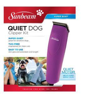 Sunbeam Quiet Dog Clipper Kit | Hair Clippers & Trimmers | PetSmart