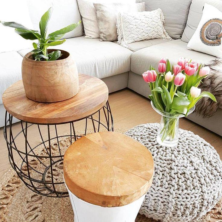 """""""Mi piace"""": 754, commenti: 4 - Dalani.it (@dalani.it) su Instagram: """"Legno naturale, piante e tulipani, fate entrare la natura in casa vostra …"""""""