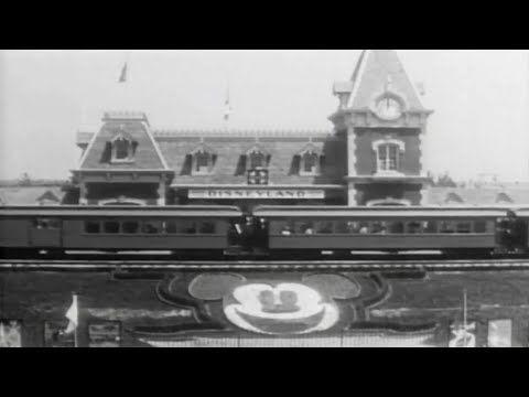 ▶ Vintage Disneyland Opening Day Footage - July 17, 1955 Celebration with Walt Disney, parade - YouTube