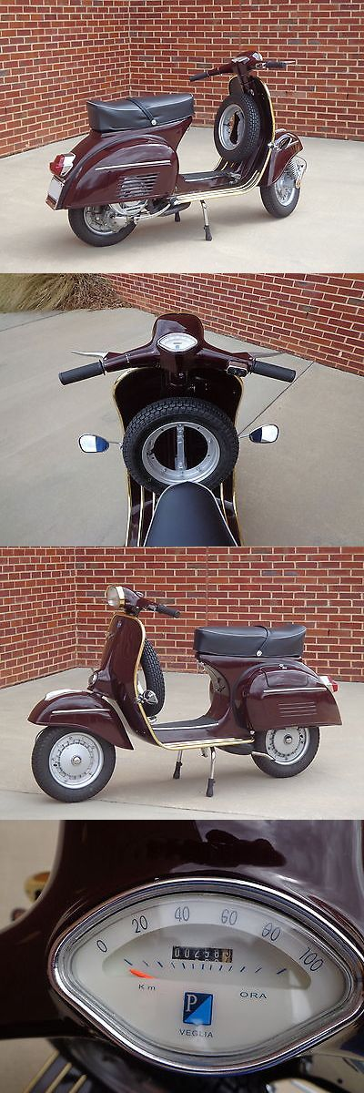motorcycles And scooters: Restored 1969 Vespa Sprint 150Cc Scooter With Clean Nc Title -> BUY IT NOW ONLY: $4500.0 on eBay!