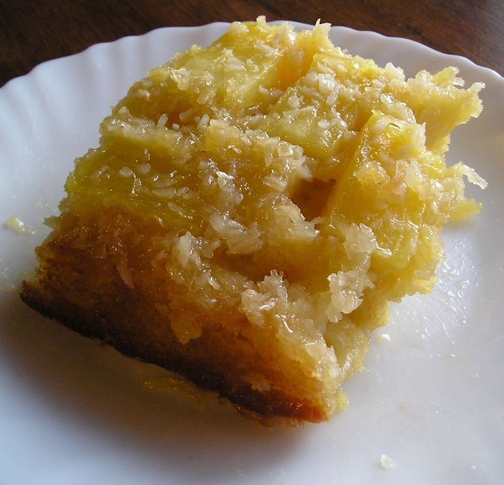 Apple pineapple cake recipe