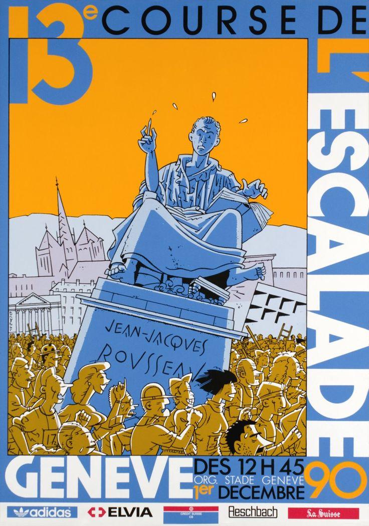 Genève, 13e course de l'Escalade (1990)