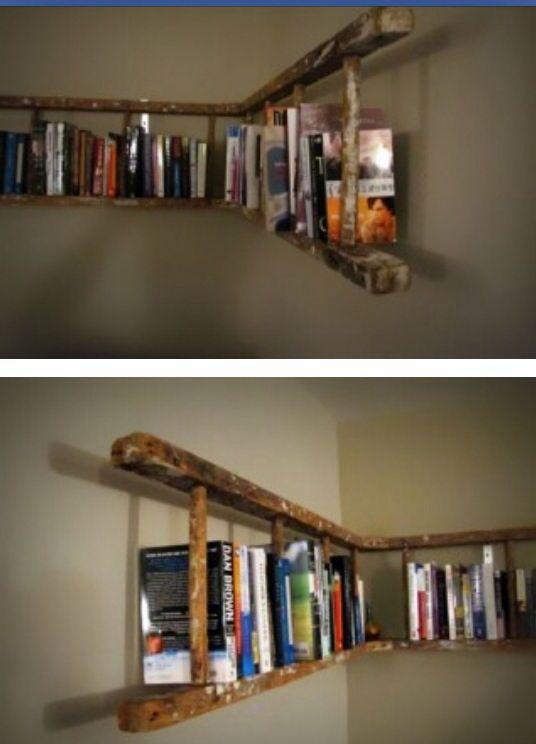 Van www.froot.nl #books #ladder #diy