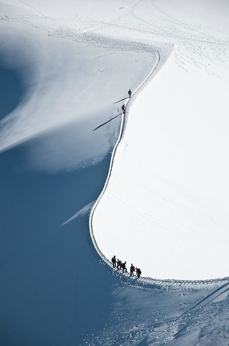 Mont Blanc by Isabelle Jouvie http://www.thecoolhunter.net/amazing-places