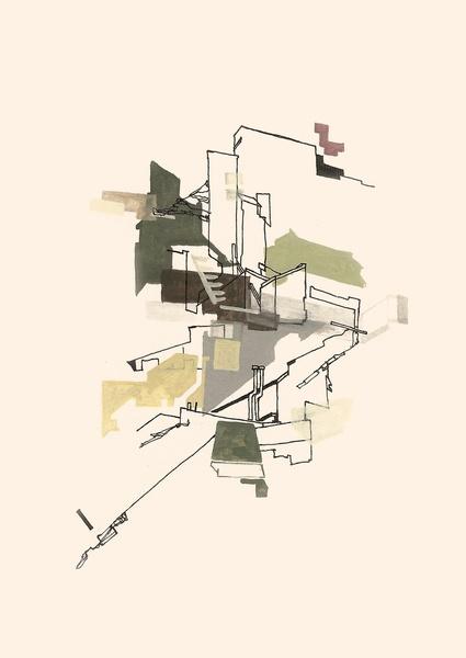 obfuse by Struan Teague que bonita Representacion arquitectónica